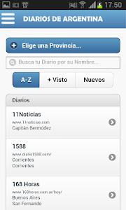 Diarios de Argentina screenshot 0