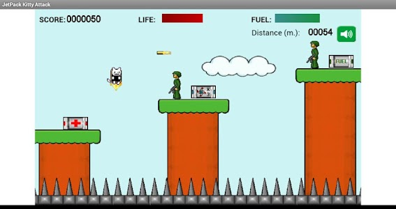 JetPack Kitty Attack Free Ver. screenshot 2