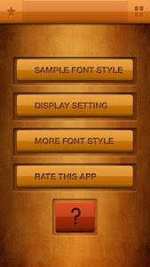Laos Fonts Free Samsung S3 screenshot 0
