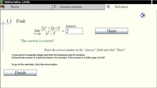 Math.Limits screenshot 4