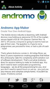 Andromo Sample screenshot 3