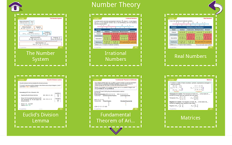 Grade 10 Math Learning Cards screenshot 6
