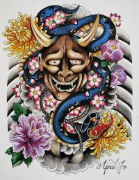 Japanese Tattoo Wallpaper  Applications Android sur ...
