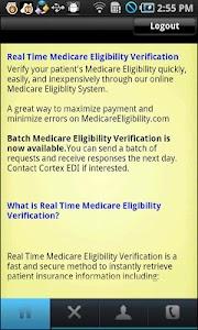 Medicare Eligibility screenshot 3