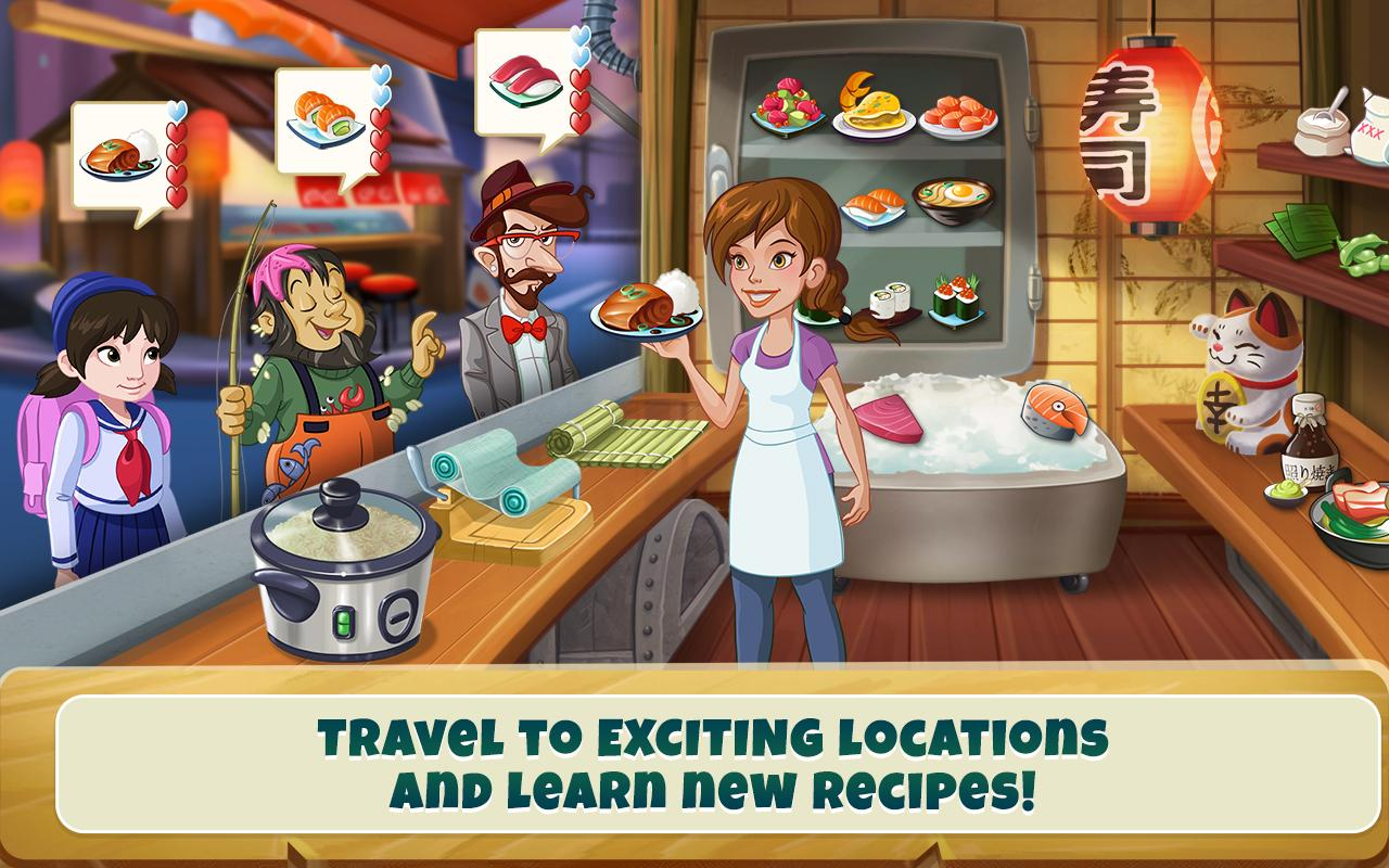 kitchen cooking games white drop leaf table scramble game apk cracked free download screenshot 17