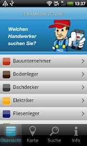 Handwerker App screenshot 1
