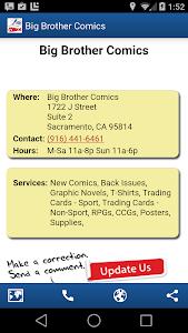 Comic Store Finder screenshot 1