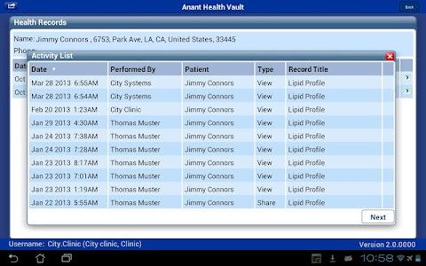 Anant Health Vault screenshot 3