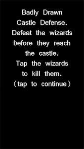 Badly Drawn Castle Defense screenshot 0