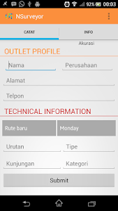 Surveyor screenshot 1
