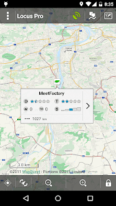 Locus - addon GeoGet Database screenshot 3