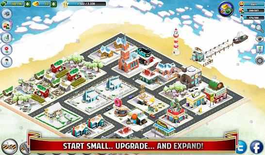 City Island: Winter Edition screenshot 09