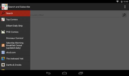 My WebComic Reader screenshot 10
