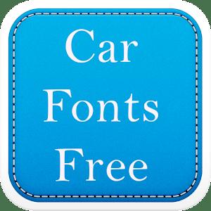 Car Fonts Free