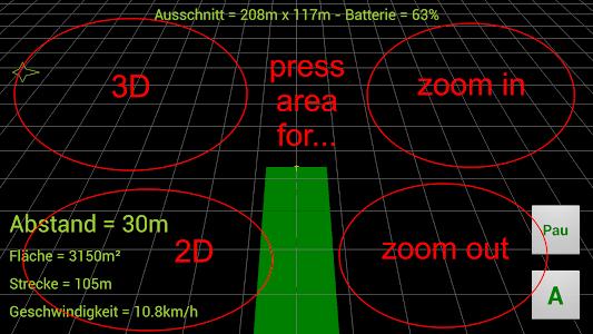 GPS Parallelfahrhilfe screenshot 3