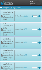 Kurzy Scio screenshot 0