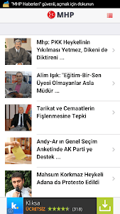 MHP Haberleri screenshot 6