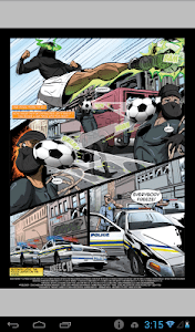 Soccer Warrior screenshot 1