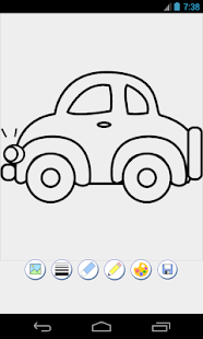 cars coloring game for PC and MAC