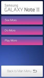 Galaxy Note II Retail Mode screenshot 1