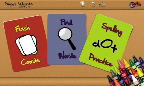 Sight Words - Level 5 screenshot 0