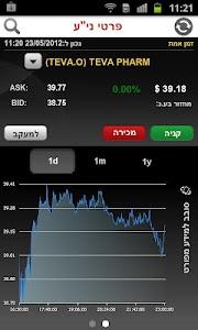 בנק הפועלים - מסחר בשוק ההון screenshot 7
