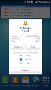 Medical Reminder screenshot 1