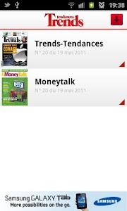 Trends - Tendances screenshot 1
