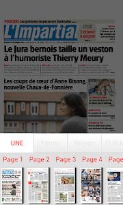 L'Impartial journal screenshot 2
