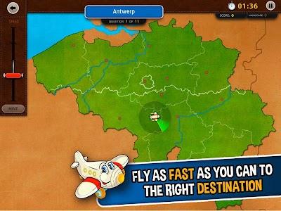 GeoFlight Belgium: Geography screenshot 5