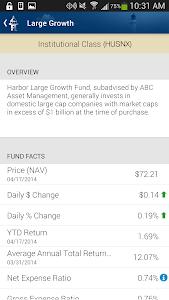 Harbor Funds screenshot 2