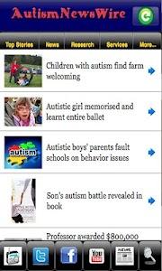 Autism News Wire screenshot 0