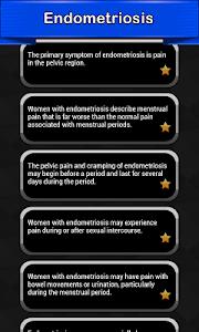Endometriosis Symptoms screenshot 0