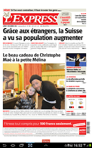 L'Express journal screenshot 4