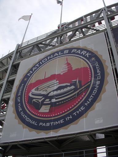 Large Nats stadium logo