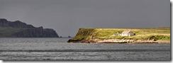 The hut on Staffin Island