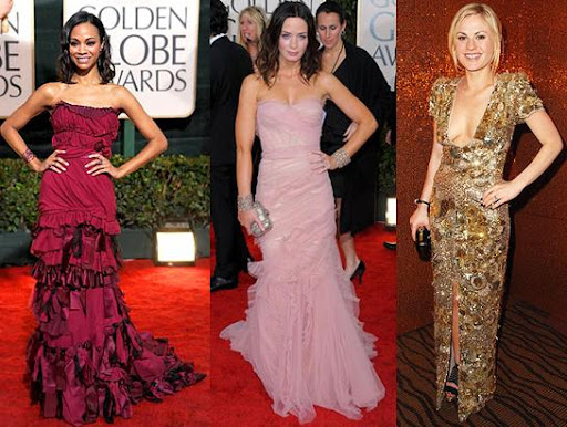 Golden Globes Dresses 2010