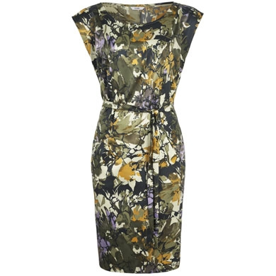 Abstract Floral Print Dress by George at Asda
