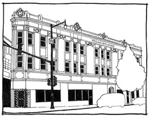 Ultra Local Geography: Flatirons in Rogers Park #4- Paulina Building