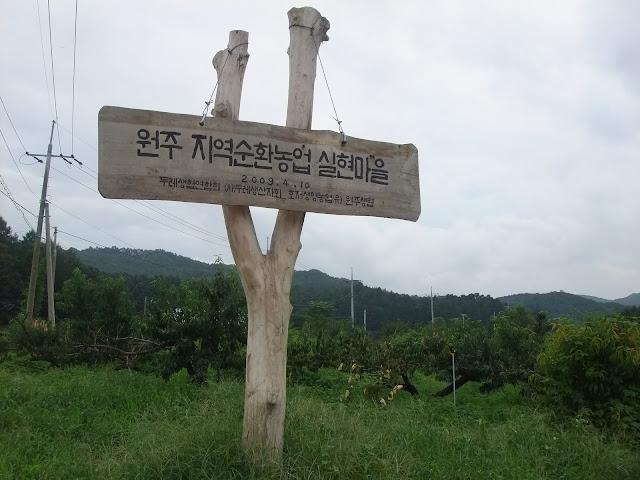 agriculture of Wonju