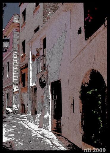 Viñeta de una calle