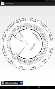 Pregnancy Calculator (Wheel) screenshot 2
