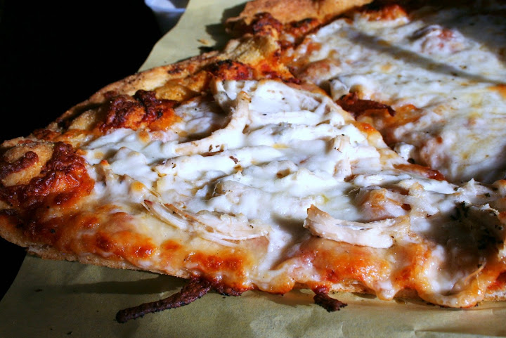Slice with Grilled Chicken