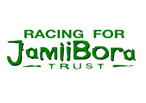 Courrir le rallye pour Jamii Bora