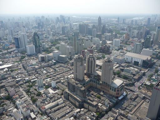 Bangkok met een weinig smog