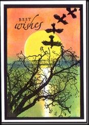 creative masking card