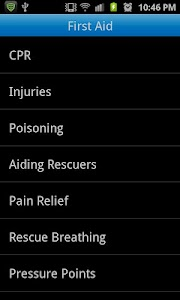 Advanced First Aid screenshot 0