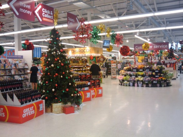 Sainsbury's Christmas Piss Take