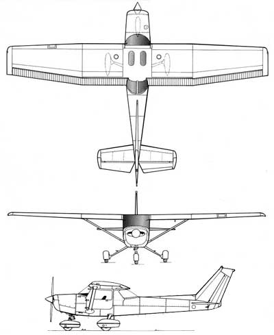 Cessna 182 Dimensions Drawing Sketch Coloring Page