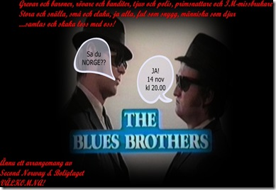 the Blues Brothers 2text right